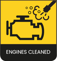Engines-Cleaned